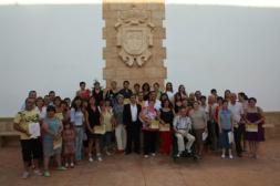 Entrega de diplomas en La Puebla de Almoradiel
