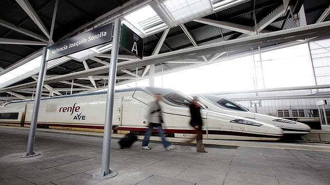 El AVE entre Valencia y Madrid suma cuatro millones de pasajeros en dos años