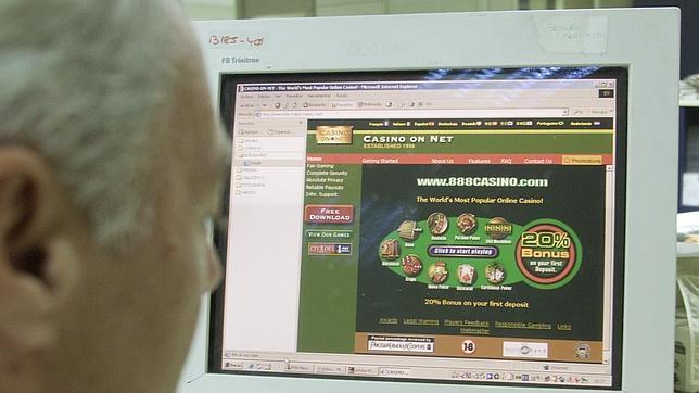 Imagen de archivo de juegos en Internet