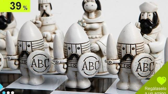 Consigue el ajedrez de Mingote por solo 49 euros