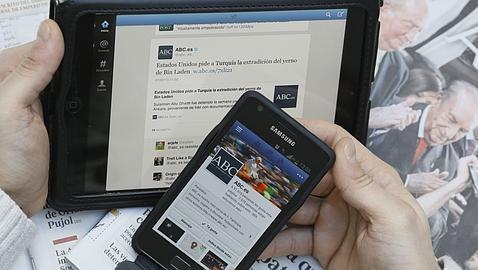 Las redes sociales más usadas, en un mapa «on line»