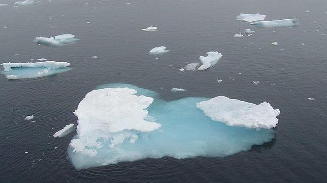El hielo de la Antártida se expande