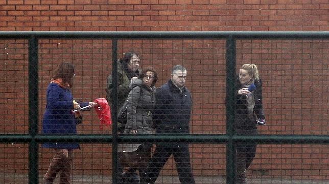 Manuel Castiñeiras sale de la cárcel de Teixeiro