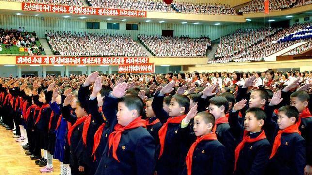 Los «niños soldado» de Corea del Norte se preparan con más ahínco que nunca
