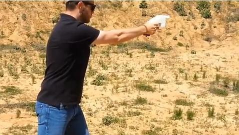La primera pistola fabricada con una impresora 3D