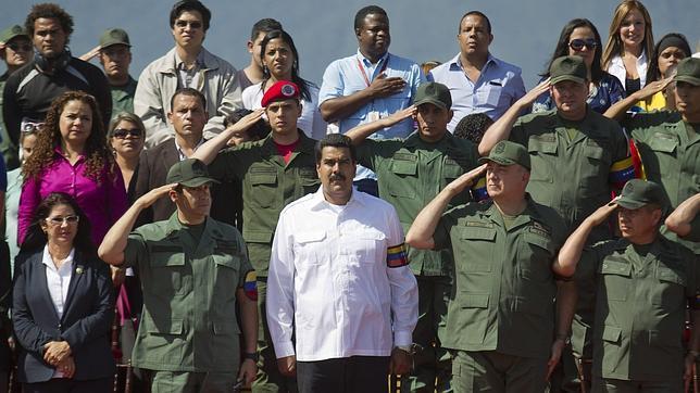 Maduro militariza Caracas para atajar la criminalidad