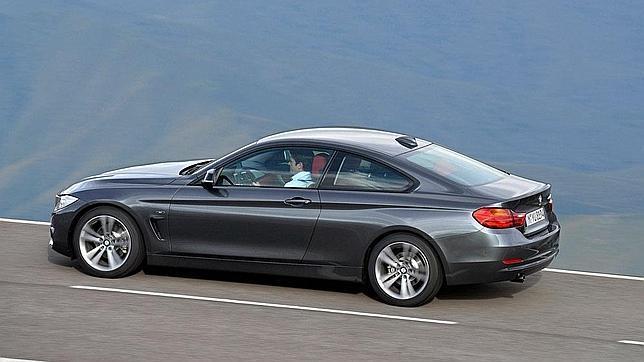 La nueva Serie 4 de BMW es más larga que su antecesora, la Serie 3 Coupé: mide 4,64 metros.
