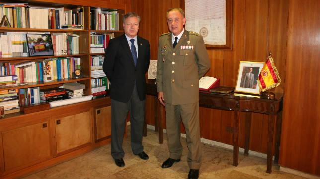 El Coronel Antonio Ruiz Nuevo Jefe De La Brigada Guzman El Bueno X