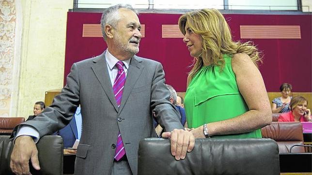 Griñán abandona la Junta acosado por los ERE