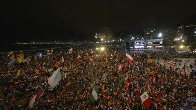 La JMJ se queda en Copacabana