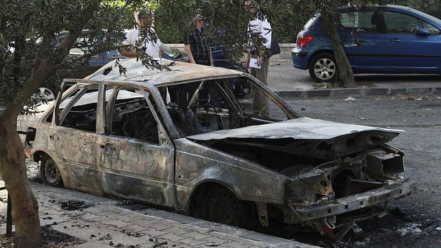Las fuerzas de Al Assad bombardean los suburbios de Damasco controlados por los rebeldes