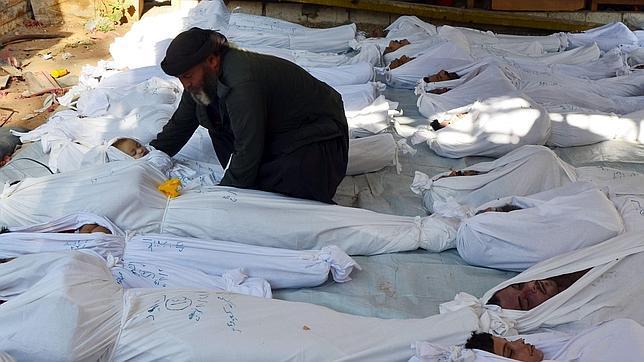 Reunión de urgencia en la ONU por el posible uso de armas químicas en Siria