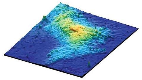 Descubren el volcán más grande de la Tierra
