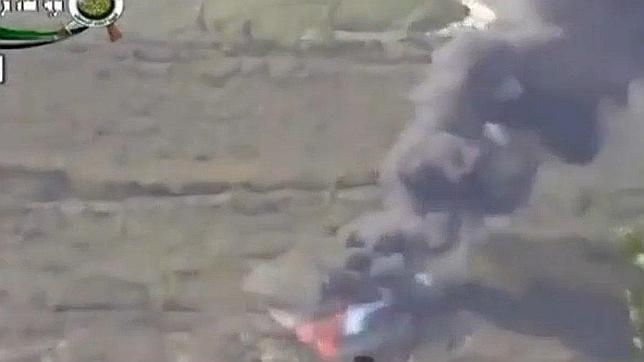 Rebeldes sirios derriban un helicóptero del ejército