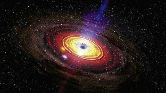 El centro de nuestra galaxia explotó hace 2 millones de años