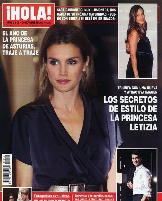 El estilismo de Doña Letizia y el embarazo de Chabelita, en las portadas