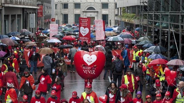 Miles de personas piden al Gobierno que derogue «sin más plazos» la ley del aborto