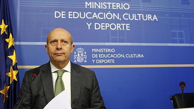 Wert: «Dimitiré si se aprecia inconstitucionalidad en la ley de Educación»
