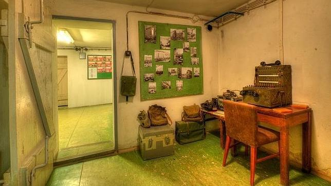 Refugio antinuclear bajo el hotel Jarta, en Praga