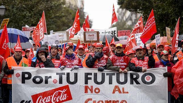 Coca-Cola propone bajas voluntarias y prejubilaciones para evitar despidos