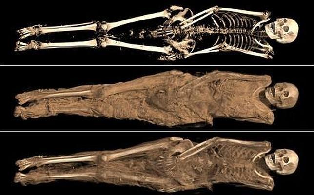 El curioso e íntimo tatuaje de una momia de hace 1.300 años