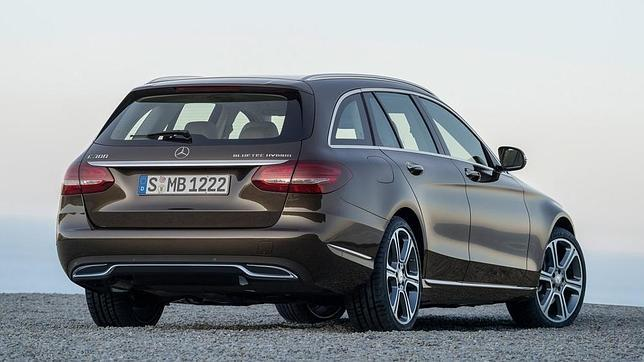 Además de los consabidos diésel y gasolina, el nuevo C Estate de Mercedes contará con dos versiones híbridas.