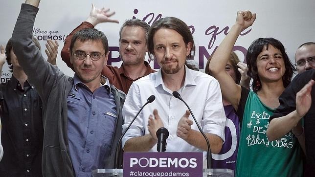 Podemos: el mejor estreno electoral de la democracia