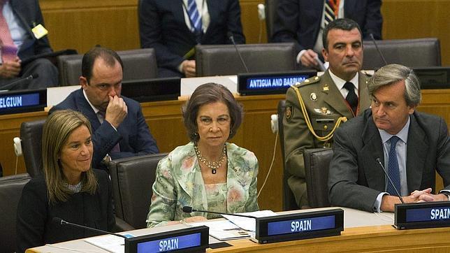 La Reina Sofía: «Todo va a seguir igual; el traspaso va muy bien»