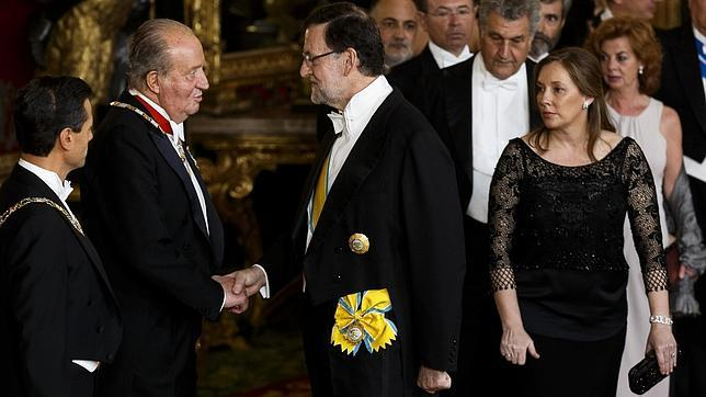 Rajoy defenderá en el Congreso la ley de abdicación del Rey