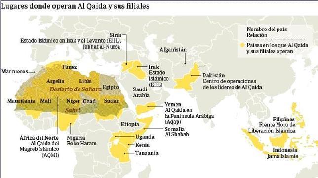 Las permeables fronteras africanas juegan a favor de los terroristas
