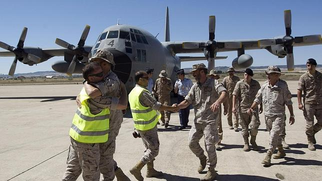 Punto y final a 12 años de la misión del Ejército del Aire español en Afganistán