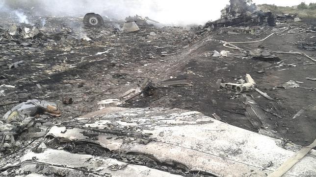 La localización del accidente es en Grabovo, a 80 kilómetros en la región de Donetsk, en el este de Ucrania