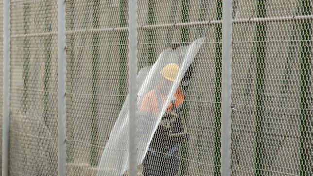 Así es la malla antitrepa de Melilla que tiene un 99,13% de «eficacia»