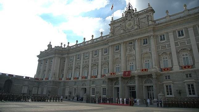 El Palacio Real, en la proclamación de Felipe VI