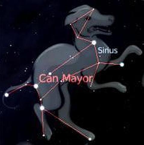 Constelación Can Mayor