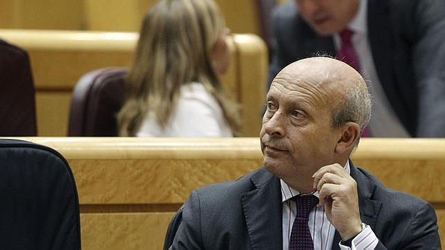 El ministro de Educación, Cultura y Deportes, José Ignacio Wert