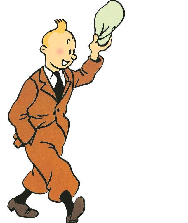 Tintín, el famoso personaje creado por Hergé