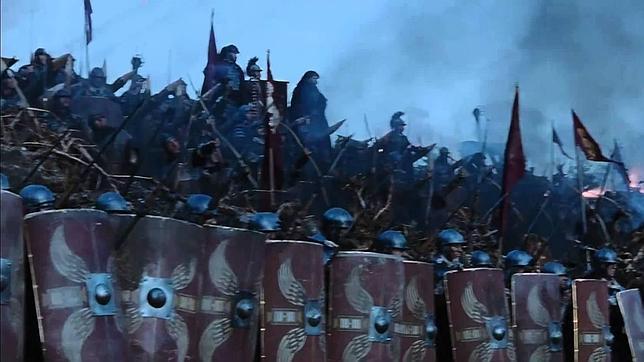 Tras los legionarios romanos estaban los «medicus», que velaban porque los ejércitos pudieran seguir combatiendo