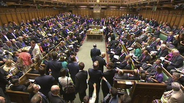 Imágen de archivo en un debate en la Cámara de los Comunes