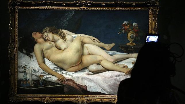 «El sueño», de Gustave Courbet, en el Museo de Orsay