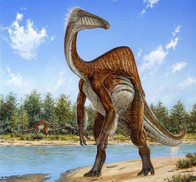 El Deinocheirus mirificus tenía una extraña combinación de rasgos