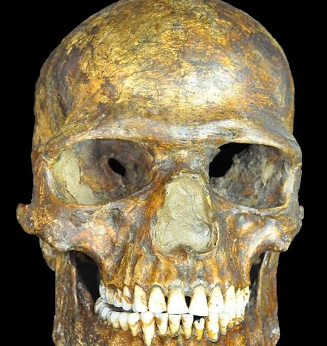 El cráneo del hombre de Kostenki