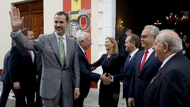 El rey Felipe, hoy en Veracruz