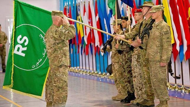 Kabul ha acogido la ceremonia por la que la misión de la OTAN pasa a convertirse en «Apoyo Resuelto»