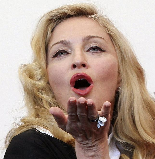 Madonna, en una imagen de archivo