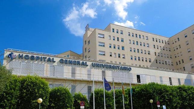 Fachada del Hospital General de Alicante