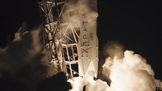 Lanzamiento del Falcon 9 de SpaceX