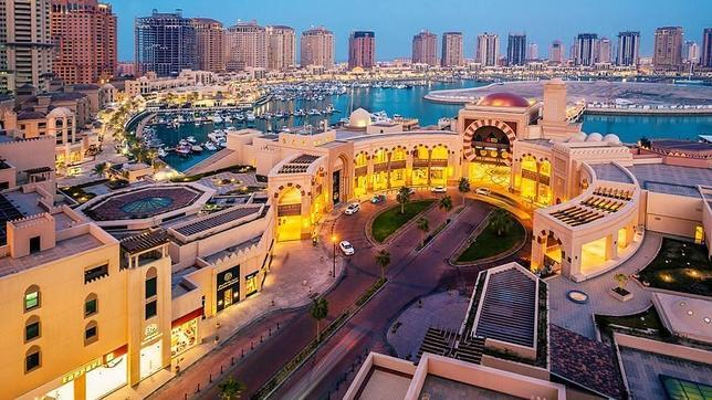 La Perla, una de las grandes urbanizaciones de lujo en Doha