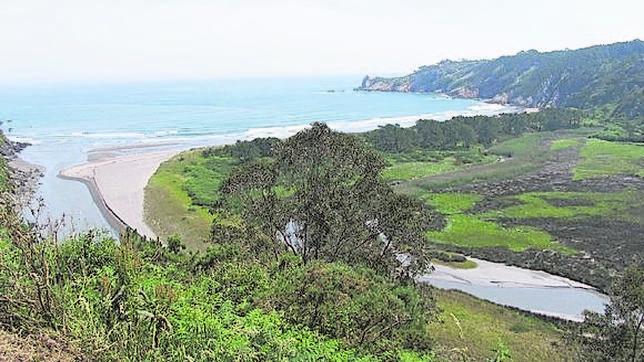 Playa de Barayo en Asturias