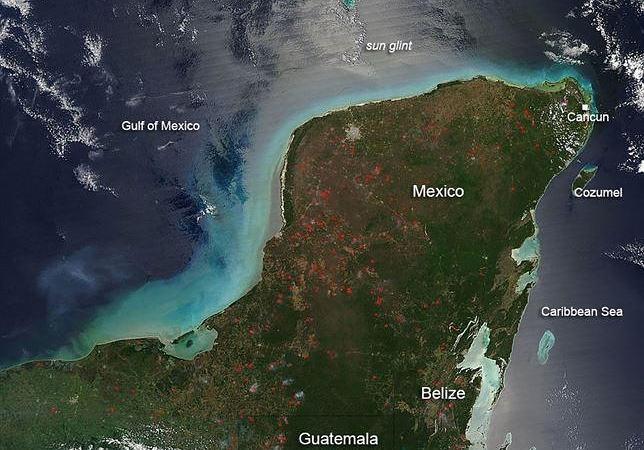 Las olas pudieron afectar una extensión de hasta 125 kilómetros